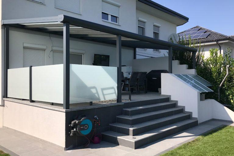 Dach und Sichtschutz
